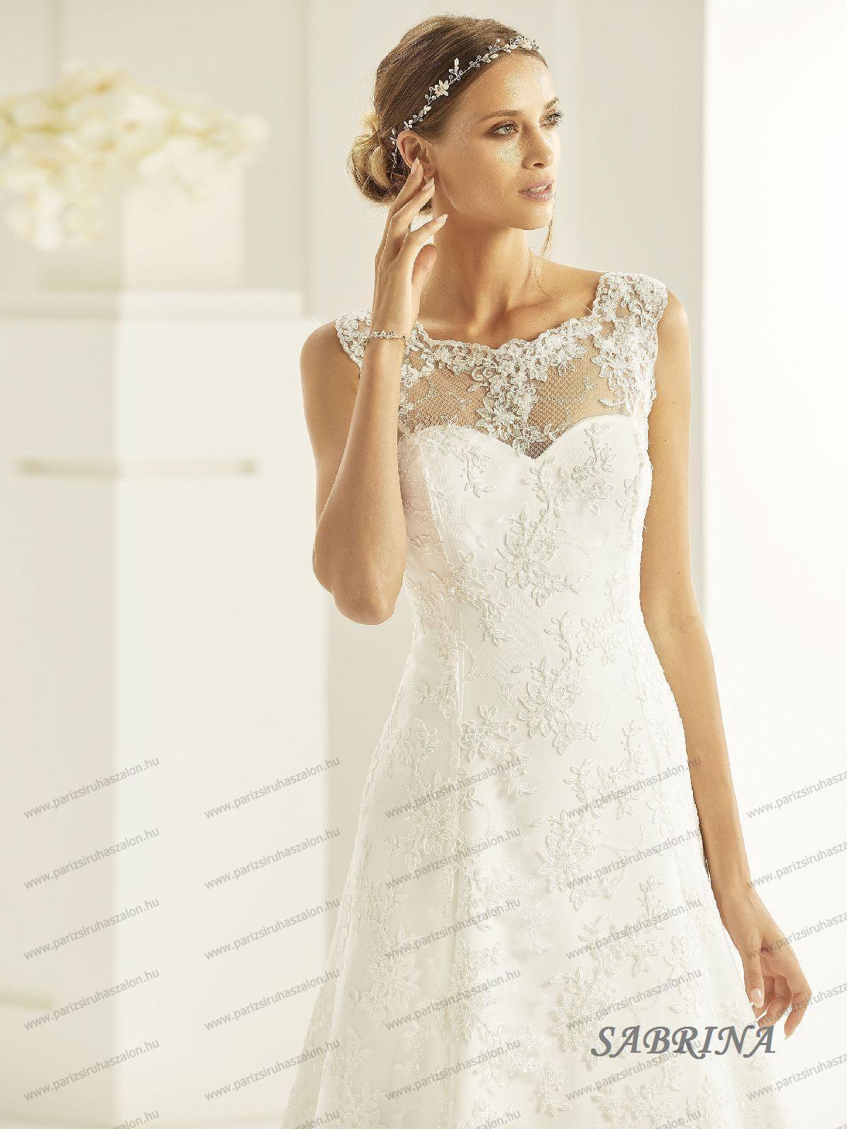 ebc457f36b SABRINA menyasszonyi ruha | BIANCO EVENTO német hosszú, és rövid menyasszonyi  ruhák. (cikkszám: SABRINA menyasszonyi ruha)