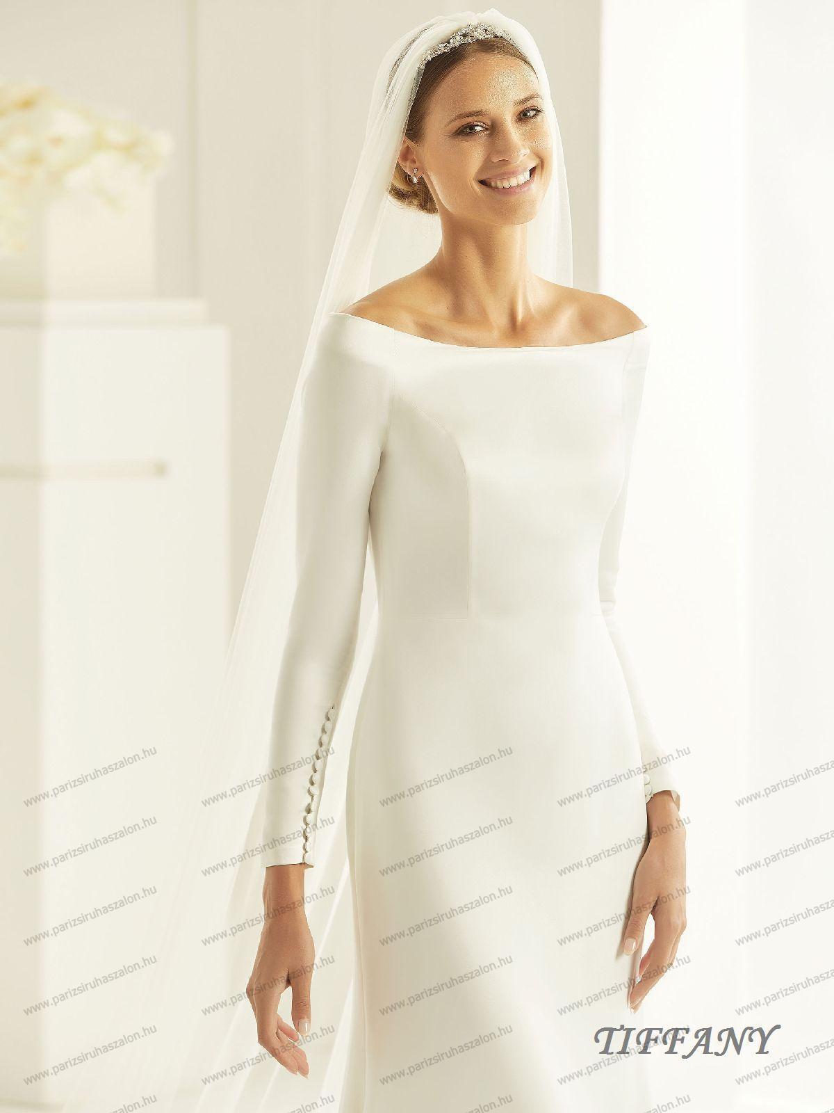2ab0009faa TIFFANY menyasszonyi ruha | BIANCO EVENTO német hosszú, és rövid menyasszonyi  ruhák. (cikkszám: TIFFANY menyasszonyi ruha)